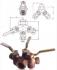 ROBINET CU SCAUN CONIC, INVERSAT, BRONZ, PN06 - 251/252
