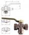 ROBINET CU SCAUN CONIC INVERSAT, BRONZ, PN06 - 253/254/255