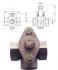 ROBINET CU SCAUN CONIC, BRONZ - 51T/51L