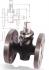 ROBINET CU SCAUN CONIC, BRONZ, IMBINARE CU FLANSE, PN10 - 52/53